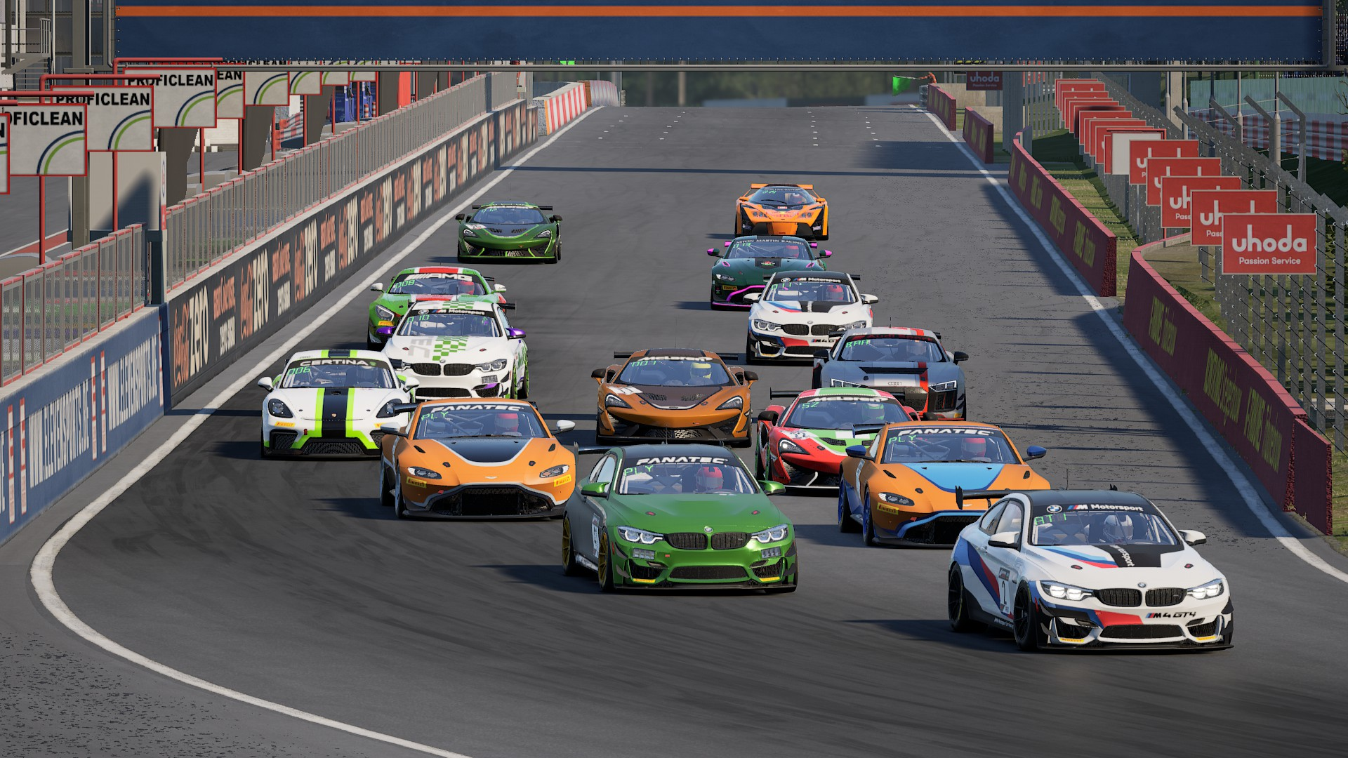 Assetto Corsa Competizione – GT4 S2 Bajnokság